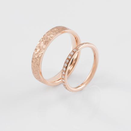 T&C-ring-scratch-rosegold-B-03|Dawn 良晨